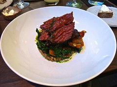 Five Dot Ranch bavette steak at Frances in the Cas…