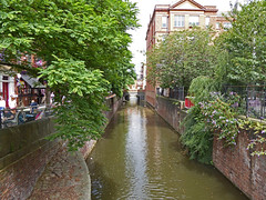 The canal on Canal St