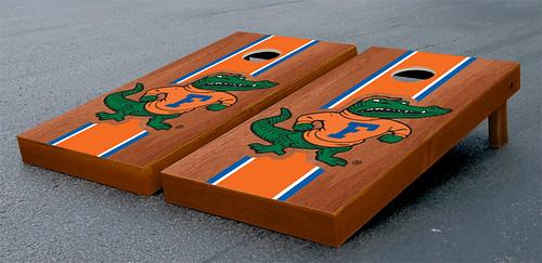 University of Florida Gators UF Cornhole Game Set Stained Albert