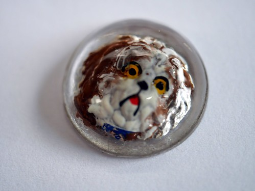 """Essex Crystal"" Dog Cabochons - 2"