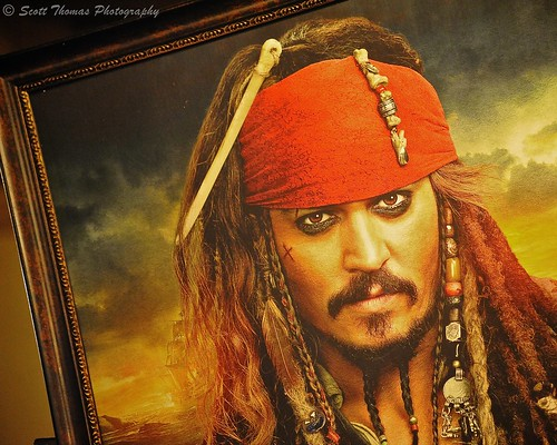Captain Jack Sparrow is Watching You | by Scott Thomas Photography