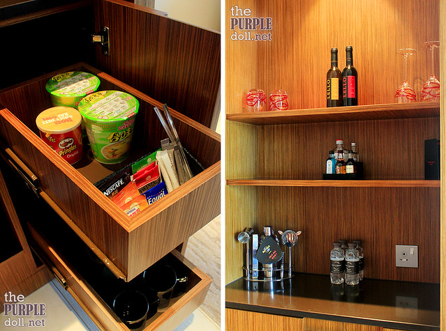 Mini-bar at Hard Rock Hotel Macau