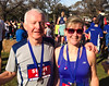 Stu and Karen after their 10k