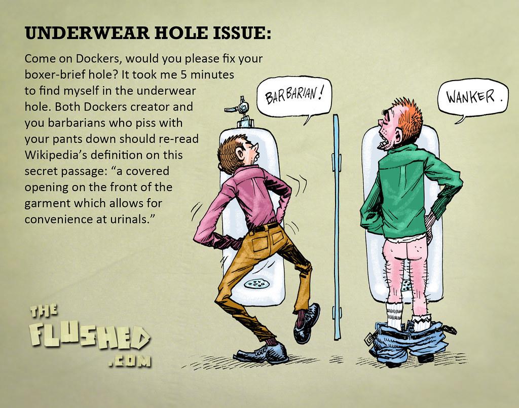 10 Underwear hole issue