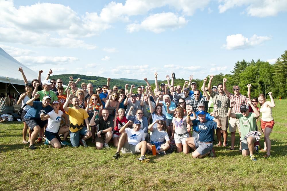 The VHTRC contingent in Vermont