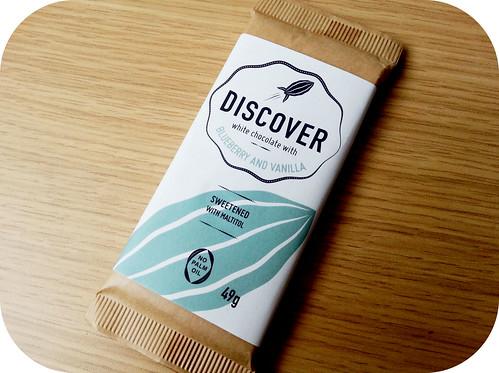 Discover Chocolates Blueberry & Vanilla White Chocolate