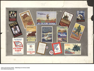 Fifteen Canadian Posters from the 1918 Victory Loan Campaign / Quinze affiches canadiennes de la campagne de l'Emprunt de la Victoire – 1918