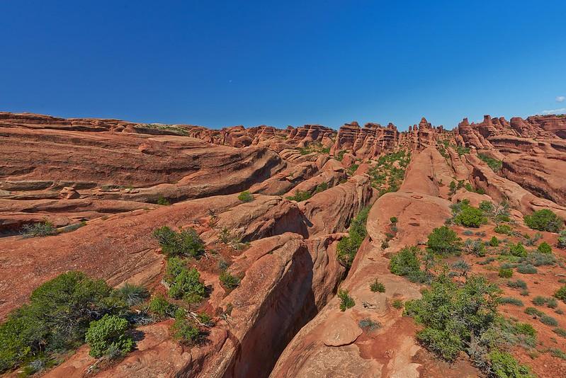 Sandstone Plates - Arches National Park