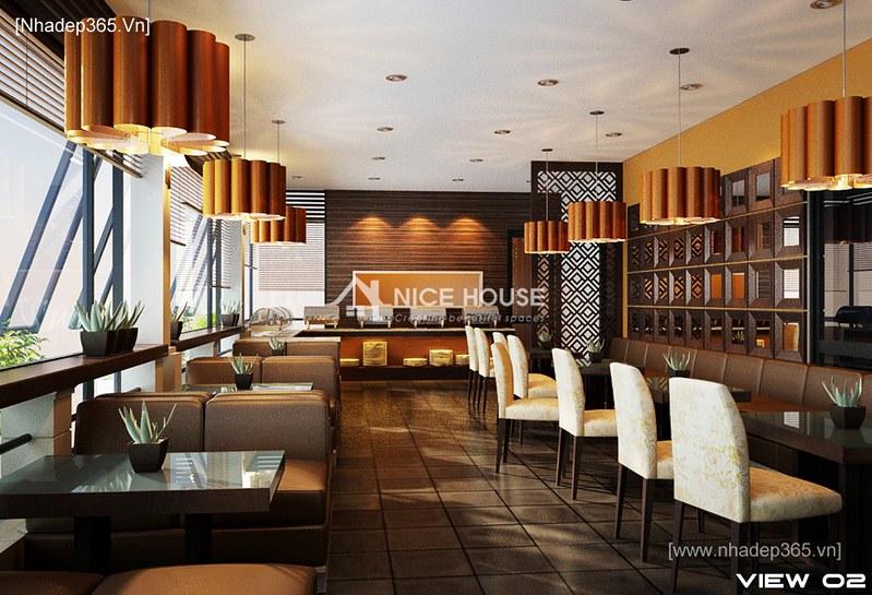 Thiết kế nội thất Saigontourist Cafe_2