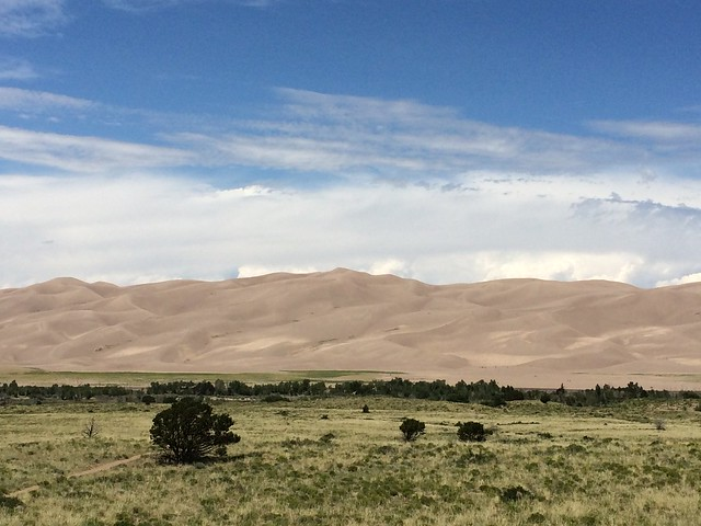 Picture from the Great Sand Dunes
