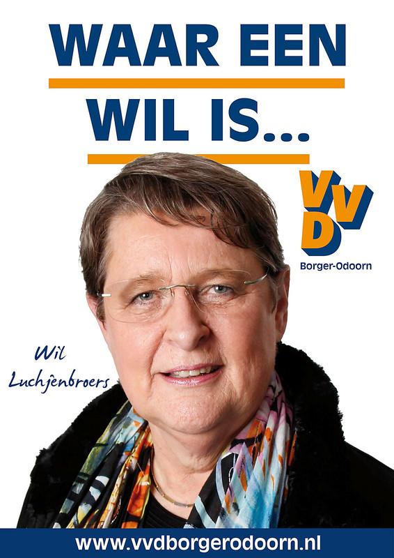 Poster VVD Borger-Odoorn 2014