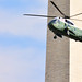 "VH-3D ""Marine One"" on approach to the White House on 8/19/2014"