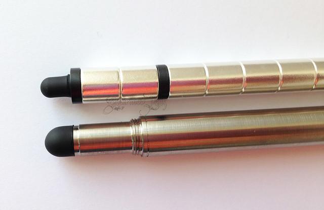 Review: @BIGiDESIGN Titanium Post Raw Pen + Stylus and Polar Magnetic Pen