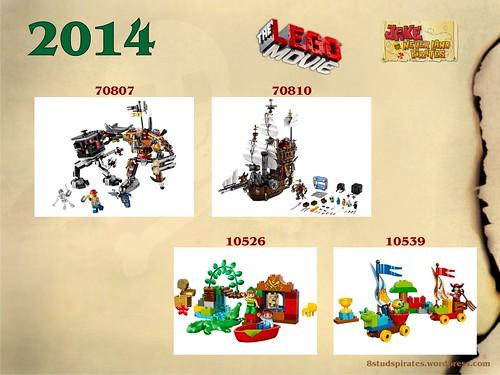 LEGO Pirates Timeline 2014