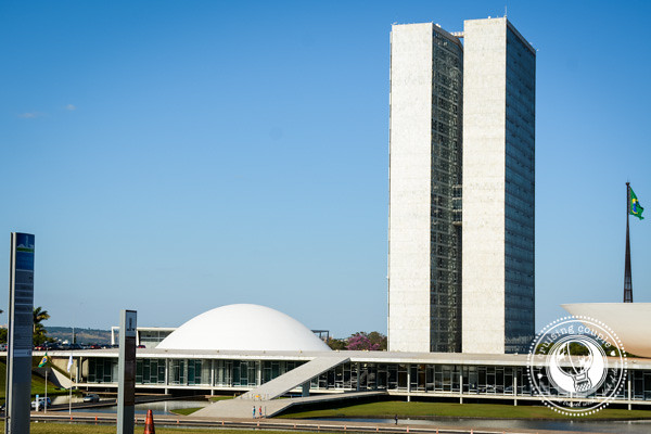 Parliament Buildings in Brasilia