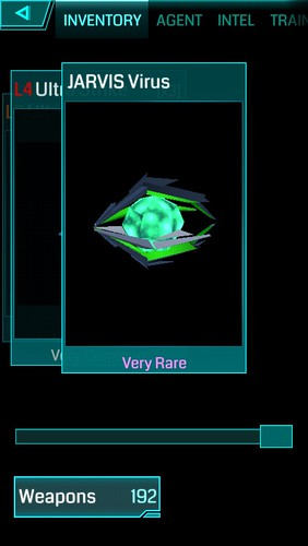 JARVIS Virus,Ingress