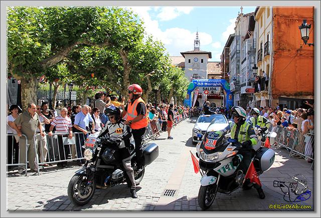 1 Vuelta a Burgos 2.014 Salida de Briviesca