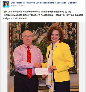 Following the Money: Ferrell's Funding
