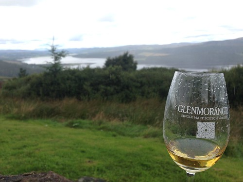 Whiskey at the Dornoch Firth
