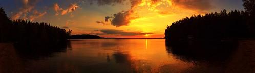 sunset finland auringonlasku ipad lohja panoraama vivamo visitfinland visitlohja