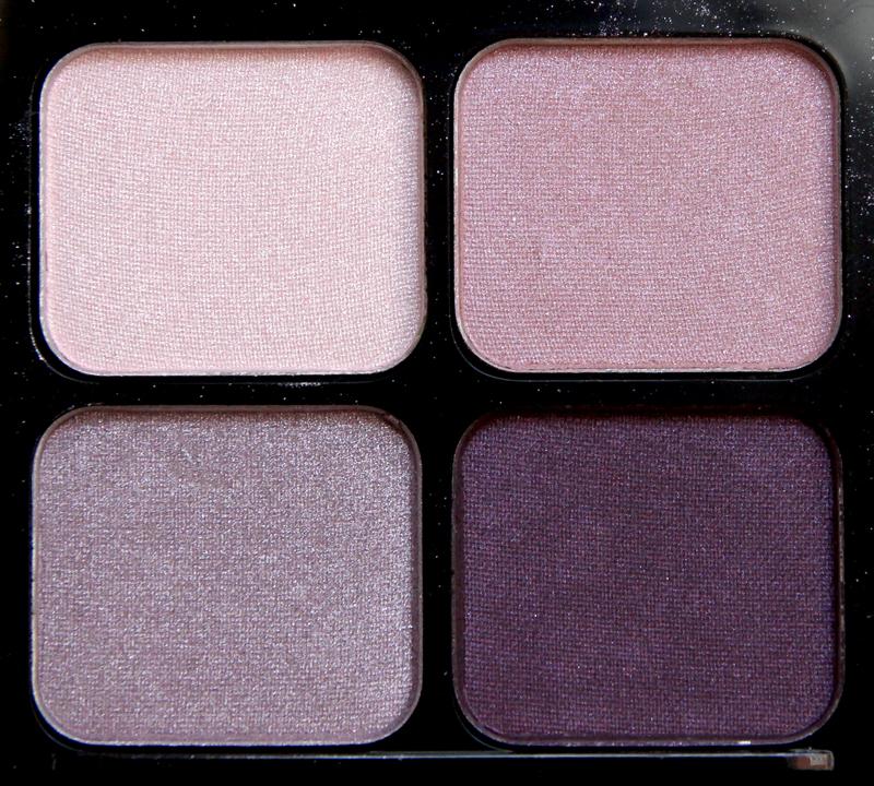 IsaDora pink pashmina eyeshadow quartet2