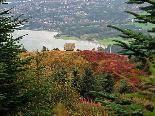 ireland stone nikon scenic northern erratic codown rostrevor cloughmore finnmccool fionnmaccumhaill chlochmhór