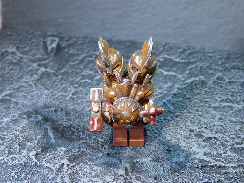 custom Lego minifigure - twinhead