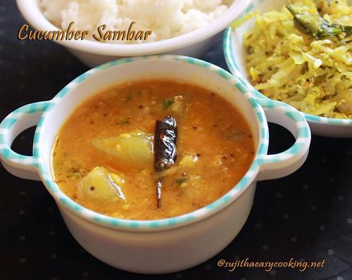 cucumber-Sambar