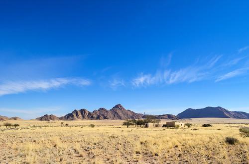 L'agriculture sous le ciel bleu de la Namibie