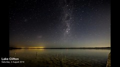 Lake Clifton Starlapse