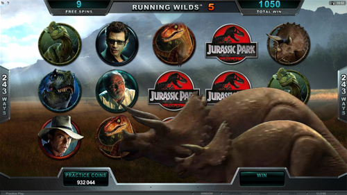 Jurassic Park Free Spins