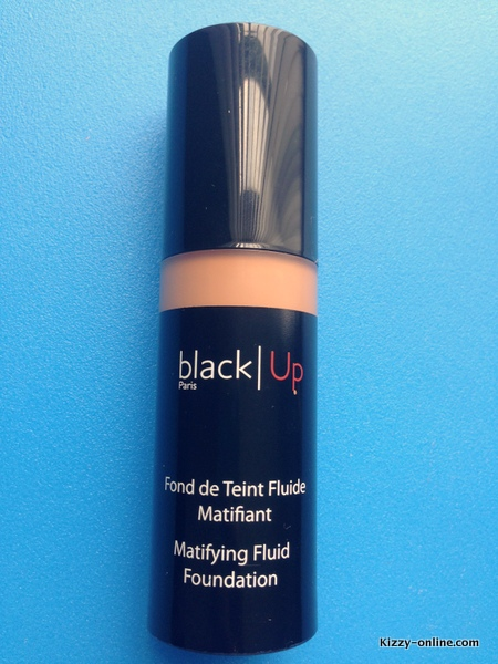 black Up Matifying Fluid Foundation woc women of color nc45 brown