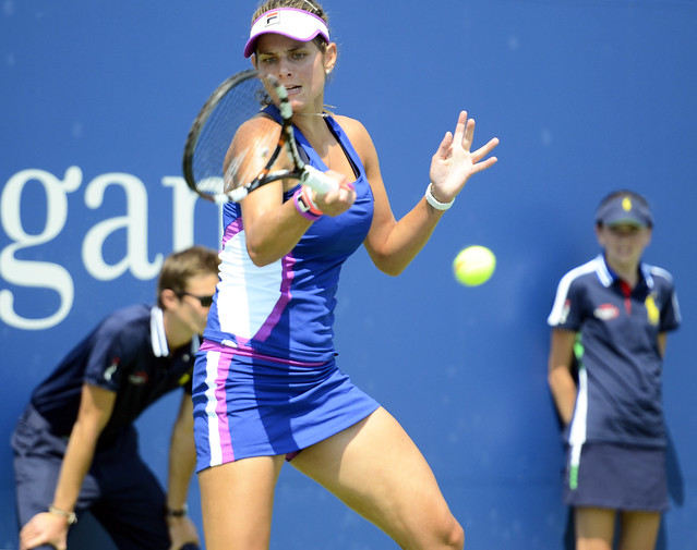 2014 US Open (Tennis) - Tournament - Julia Goerges