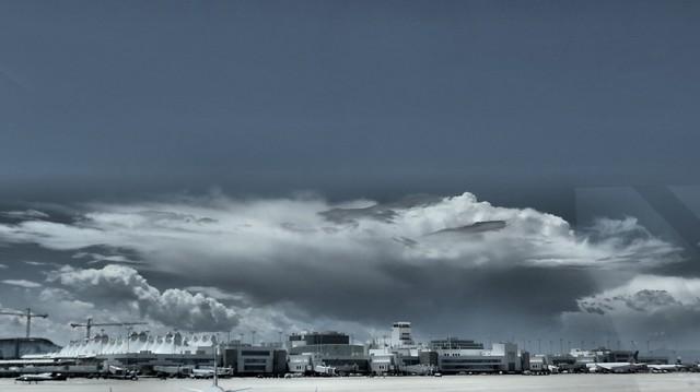 Denver Airport Sky