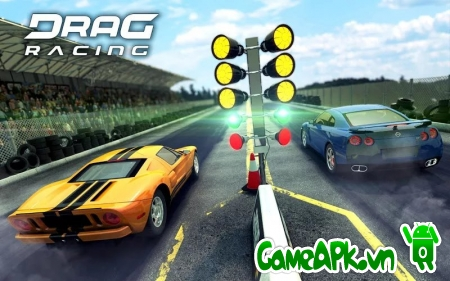 Drag Racing v1.6.26 hack full tiền & xe cho Android