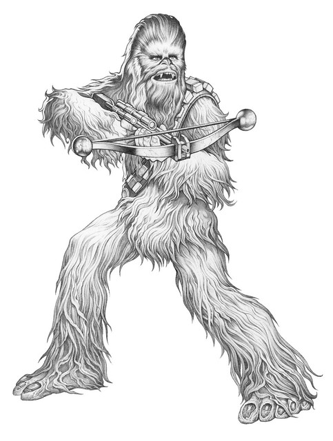 SutfinChewbacca_Pencil_02