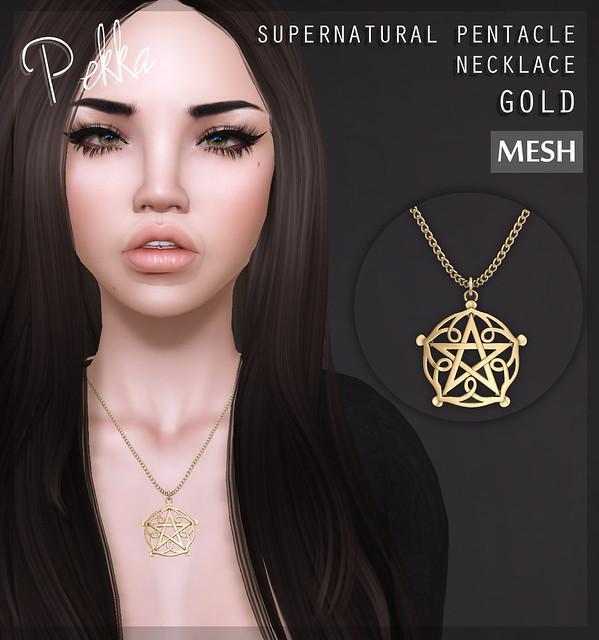 pekka supernatural pentacle gold