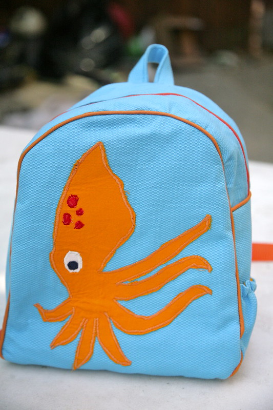 Squid backpack