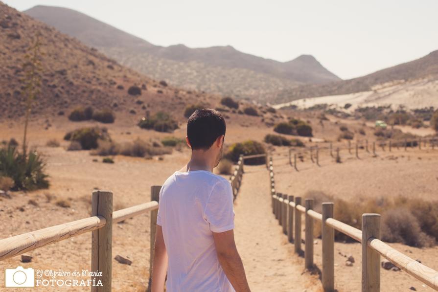 Caminando hacia el Mónsul, Cabo de Gat