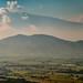 Colima Volcano Panorama por Bo47