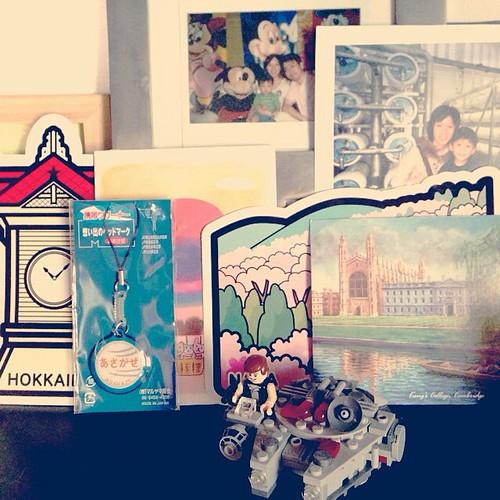 書架一隅,充滿快樂的回憶