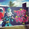 TMS Crew #streetart #selfie on designated boarding in Helsinki. #mustlovefestivals