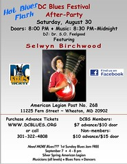 DC Blues Festival After Party  - Selwyn Birchwood