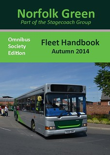 Stagecoach Norfolk Green Fleet Handbook 2nd Edition