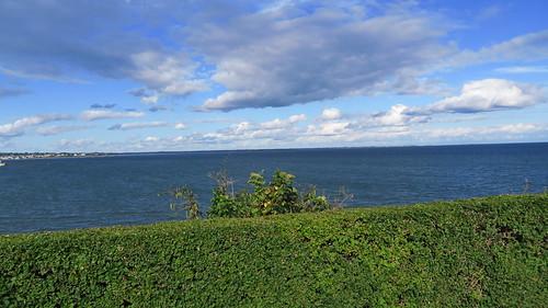 Marble House ocean view