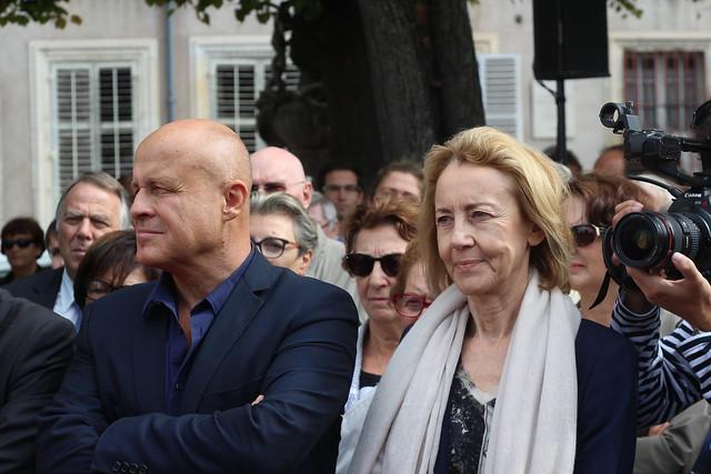 Olivier Poivre d'Arvor et Dominique Bona - Livre sur la Place 2014