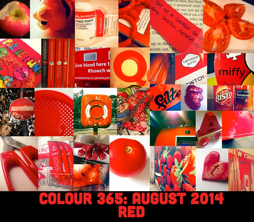 Colour 365: August 2014 Red