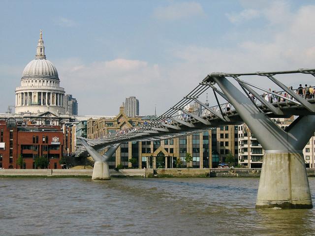 Puente del Milenio y San Pablo