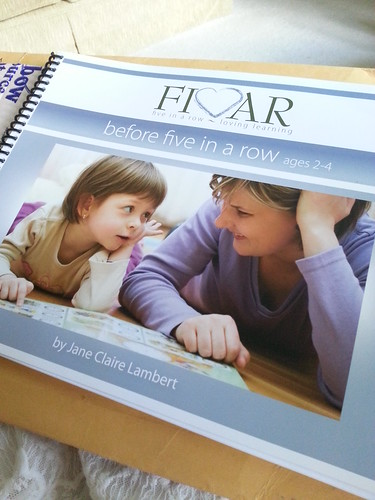Before Five in a Row curriculum book