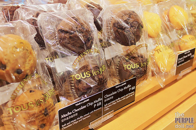 Muffins at Tous Les Jours Trinoma